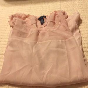 Gap pink sheer tank